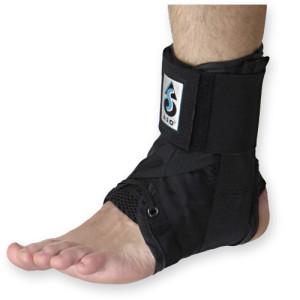 ankle brace wrap ankle sprains 300x300 Ankle Sprains: Tape or Brace?