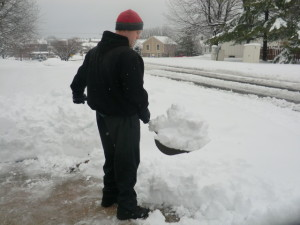 Load close 300x225 Proper Snow Shoveling Technique