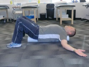 foam roll 300x225 Correct Computer and Sitting Posture
