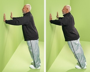 "wall push up 300x242 ""Home Gym"" for Senior Citizens"