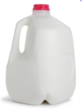 gallon of milk Household Items That Sub for Weights