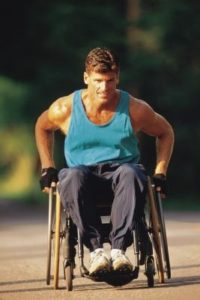 wheelchair 200x300 Stay Fit While Recovering From Injury